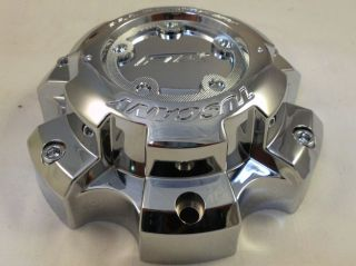FTX Wheels Chrome Custom Wheel Center Cap Caps 89 9865T New