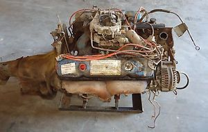 Complete 440 Mopar Dodge Chrysler Engine Motor 3698830 and Transmission