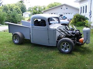 Old Project Truck 1936 Chevy Hot Street Rat Rod Parts Body 36 Chevolet Pick Up