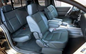 2004 10 Nissan Titan Real Leather Interior Seat Covers