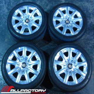"Bentley Continental GT Flying Spur Mulliner 19"" Tires Rims Wheels Package"