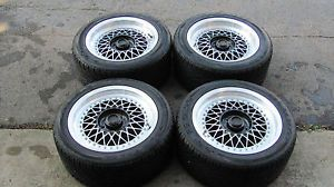 Rays Volk Wheels Rims Set Tires Staggered Mesh Split BBs Style 5x114 3 16 JDM
