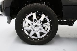 Lifted 13 F350 Dually Diesel Platinum Fox Shox Nitto Tires 22in Wheels 4x4