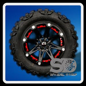"20"" Ballistic Jester 6x5 5 w 35x12 50x20 Nitto Mud Grappler MT Tires Wheels Rim"