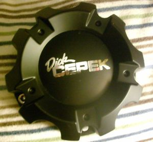Dick Cepek Torque Wheel Black 6 Lug Wheel Center Cap Hub Part WX 01 150 5H