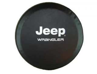 "Sparecover® ABC Series Jeep® Wrangler Tire Cover 30"" 31"" Black 35mil Vinyl"