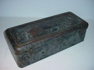 Ford Model T Nice Original Peerless Running Board Tool Box Rat Rod Hot Rod