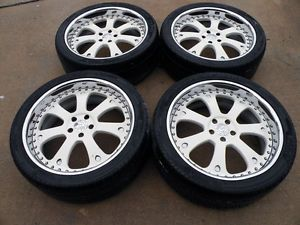 22 Strut 3pc Forged Wheels Range Land Rover HSE HST Sport LR3 Tires LR4 Asanti