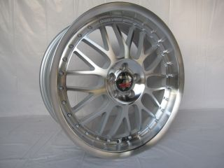 4 18x8 BBs Style Wheels for BMW 5 Series