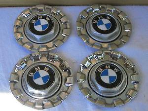 97 98 99 BMW BBs Twist Lock Chrome Center Wheel Caps E34 525i 528i 535i 540i