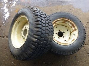 Cub Cadet 129 Tractor BF Goodrich 23x10 50 12 Rear Tires Rims