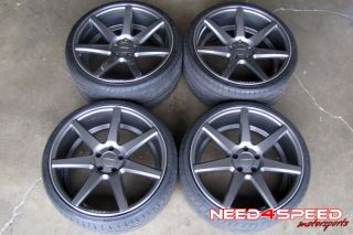 "20"" Lexus gs350 GS430 GS Vossen VVS CV7 Custom Painted Wheels Rims Hankook Tires"