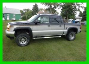 2006 Chevy Silverado Short Bed Truck 5 3L V8 16V Heated Leather 4WD Bose XM CD