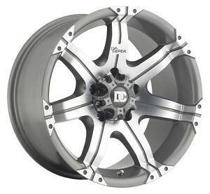New Dick Cepek Gun Metal 7 Wheels 20x9 6x5 5 Qty 3