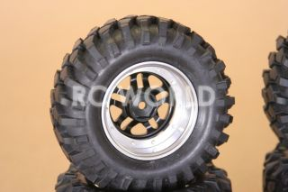 RC 1 10 Scale Truck Rims Wheels 1 9 Rock Crawler Truck Wheels White