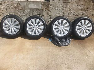 "Honda 2013 Accord Alloy 17"" inch Wheels Tires Set of 4"