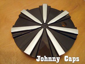 Black Ice Wheels Black Chrome Center Caps C V57 C Custom Wheel Center Cap 1