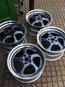 3 Piece Split Rims RS4 S4 A4 Porsche R32 R Line BBs Deep Dish Alloy Wheels
