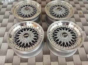 Original BBs RS 4 Wheels Rims 17 4 100 for BMW Sport BBs oz AC Schnitzer Hartge