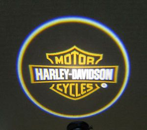 Harley Davidson Motorcycle Emblem LED Neon Lighting Hologram Projector Light