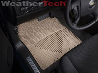 Weathertech® All Weather Floor Mats Chevy Tahoe 2007 2014 Tan