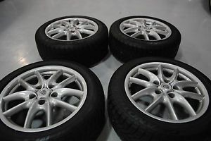 "2008 Porsche Turbo Tires and Rims 19"" Dunlop Grand Trek Tires"