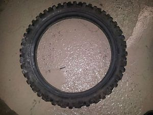 Genuine Dunlop Sports D752 Motorcycle Tire 110 90 19 62m Good Condition