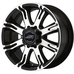 "American Racing 17"" Wheels Black"