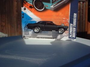 Hot Wheels 2011 Plymouth Duster Thruster Custom Paint Wheels R R