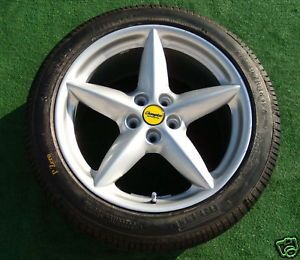 1 Original Factory Ferrari 360 Modena 18 inch Front Wheel New Pirelli Tire