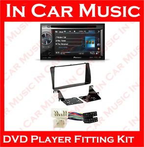 Toyota Corolla Pioneer Car CD DVD Player USB  Radio Double DIN Stereo Kit