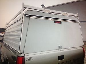 Aluminum camper Shell Truck Top Roof Ladder Rack 8' Chevy Long Bed