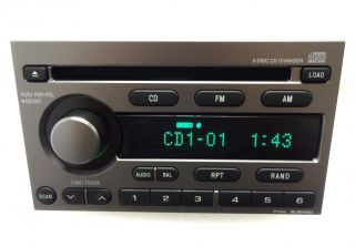 New Subaru Baja Legacy Forester Impreza Radio Stereo 6 Disc Changer CD Player