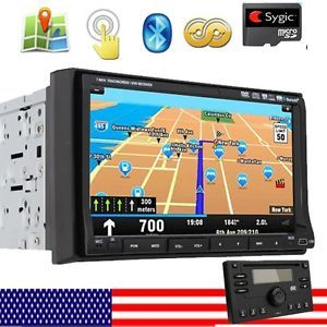 In Dash Double DIN GPS DVD