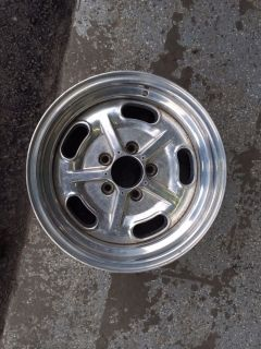 One American Racing Slat Flat Wheel 15 Inch