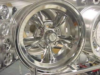 Torq Thrust Chrome D 15x10 Wheels Chevy Buick Olds GM Genuine American Racing