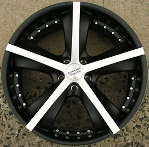 American Racing Phantom 20 x 9 0 Black Rims Wheels Explorer Sport Trac 5H 15