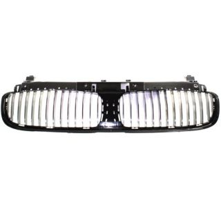 New Plastic Billet Grille Insert Black BMW 745LI Car