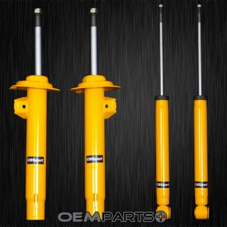 4 New Front Rear L R Sport Gas Shocks Struts Absorbers Set Kit BMW E46 325i 328i
