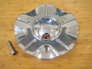 Devino 430 Adana Chrome Wheel Rim Center Cap EMR0430 Truck Cap LG0607 69