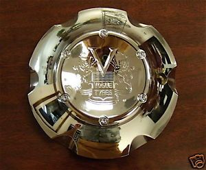 RARE New Chrome Vogue Anzio Wheel Center Cap Cover MHT