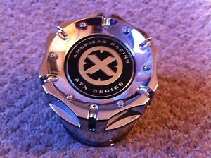 American Racing ATX Wheels Chrome Center Cap 1425000011