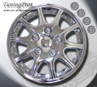 "14"" inch Hubcap Chrome Wheel Rim Covers 4pcs Style Code 005 14 inches Hub Caps"