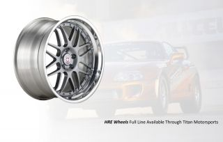 HRE P40 Monoblock Wheels Full Set Lamborghini Gallardo Lambo