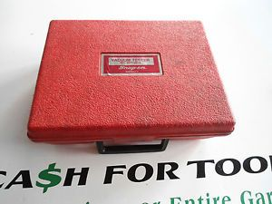 Snap on Tools Lot Set SVT261A Vacuum Tester Automotive Repair Kit Hand Pump