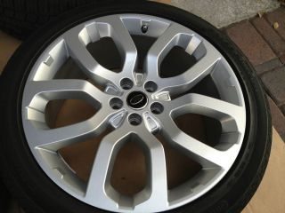 Range Rover 22 inch 2013 Wheels Tires Rims New Supercharged 2013 22 Inch