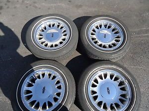 Used Chrome Lincoln Town Car Factory Wheels and Tires