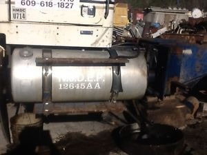 1986 Volvo Autocar DK64B Parts 85 Gallon Drivers Side Diesel Aluminum Fuel Tank