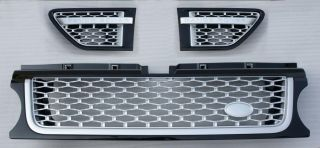 Range Rover Sport Autobiography 2010 2011 2012 Grill Side Vents Black Silver