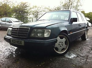 "Mercedes Benz W124 E Class Breaking Spares Parts 17"" Alloys E280 Green AMG"